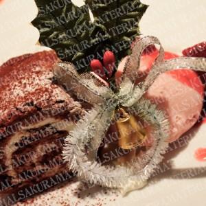 「クリスマスケーキ01」の女子向け無料素材