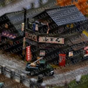 「レトロな昭和の模型01」の女子向け無料素材