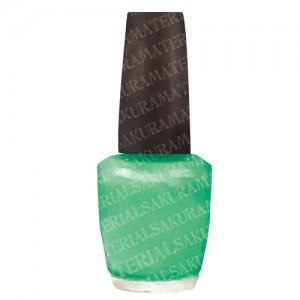 「マニキュア(緑)のイラスト01」の女子向け無料素材